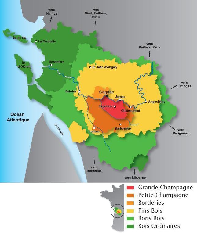 Cognac quelle region